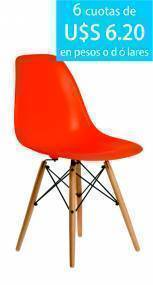 Silla Eames fija Moderna