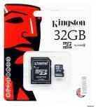 Memoria Micro Sd Kingston 32 Gb Class 4